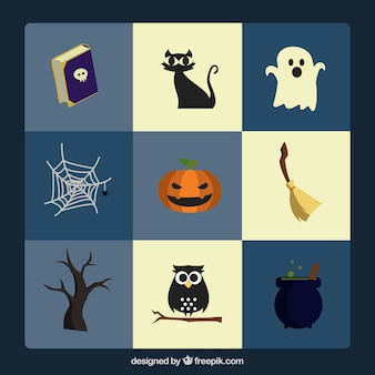 Great collection of items for halloween