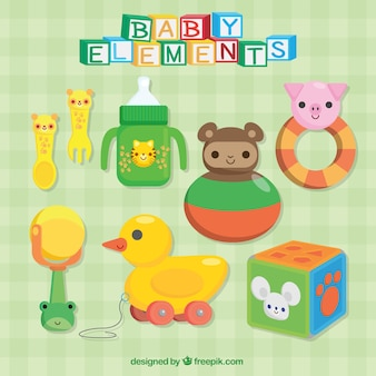 Great colorful baby accessories