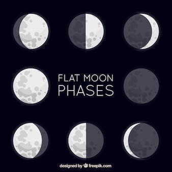 Great flat moon phases