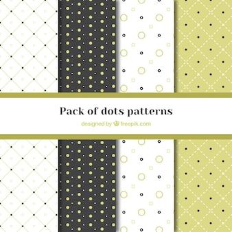 ドットで4パターンのグレートパック