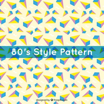 Great pattern with colorful polygons