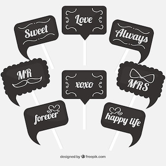 great photo booth signs with different messages_23 2147593455