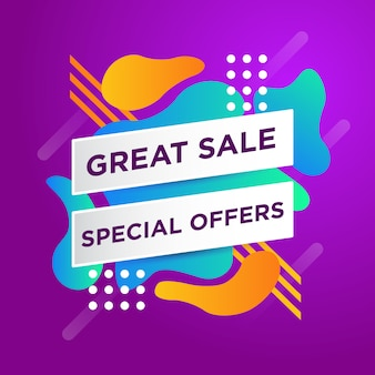 Great sale banner