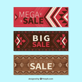 Great sales banners