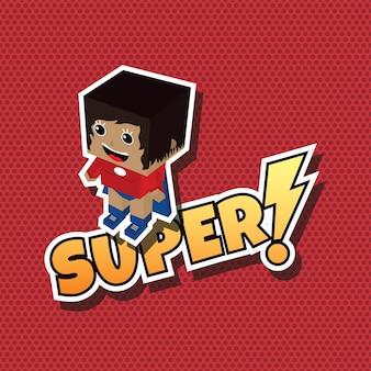 Great superhero mom