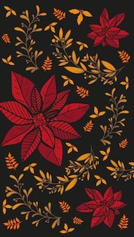 가을 정원에서 마른 꽃에서 해바라기 씨를 먹는 큰 젖꼭지 새. 똑똑한 작은 새들이 있는 가을 계절 배경.