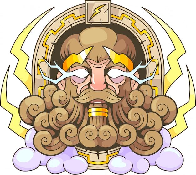 Греческий бог зевс