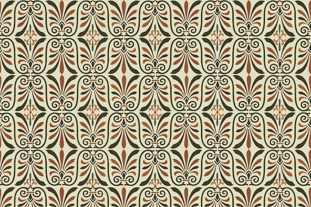그리스 키 원활한 패턴 배경 벡터