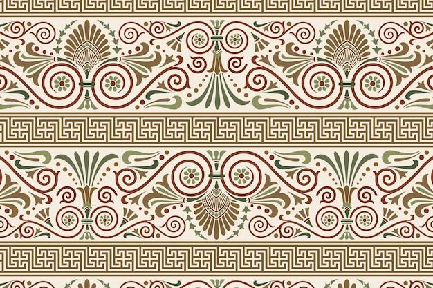 Greek key seamless pattern