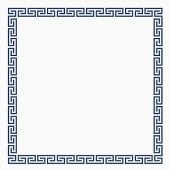 Greeke decorative frame for design