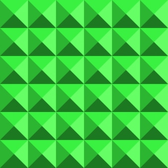 Green 3d structure abstract 80s seamless pattern