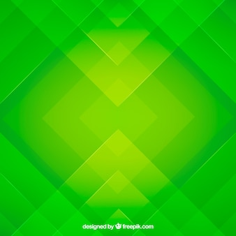 Green abstract background with flat design