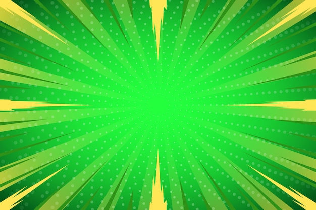 Green abstract halftone background