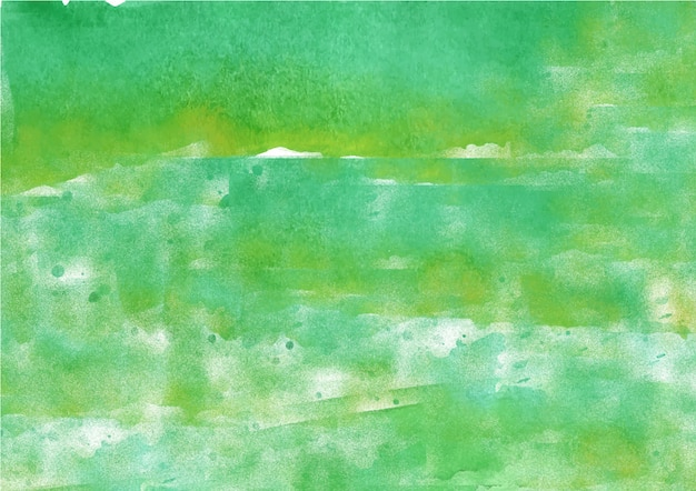 Green abstract ink flow watercolor texture background
