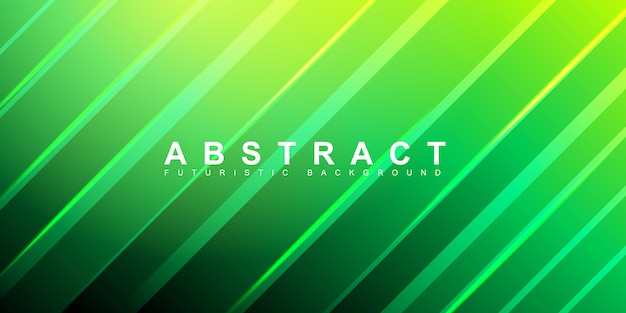 Зеленая абстрактная форма с красочным фоном градиента