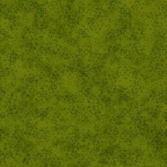 Verde modello astratto forme