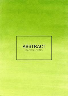 Зеленый абстрактный акварель фон дизайн