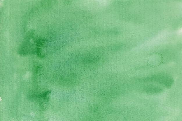 Зеленый абстрактный акварельный фон