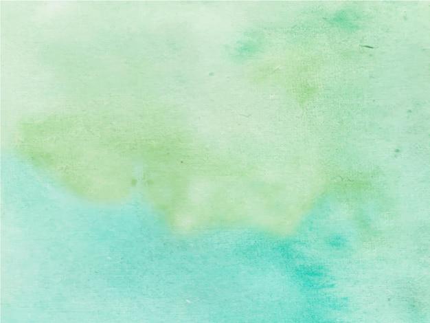緑の抽象的な水彩画の背景