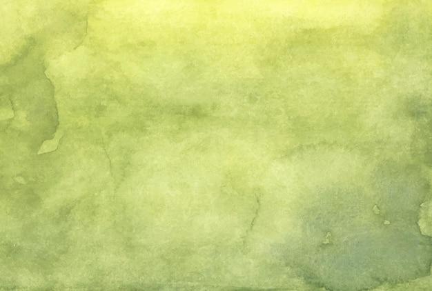 녹색 추상 수채화 질감 배경입니다.