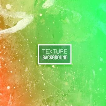 Зеленый оранжевый текстурированный фон