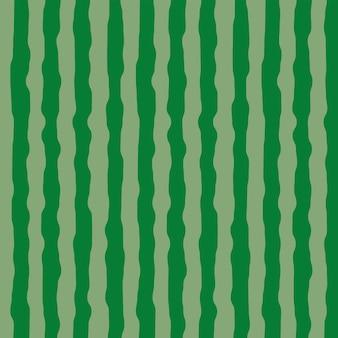 緑とスイカの肌のパターン、ベクトルの背景