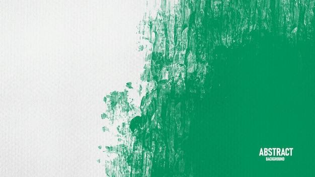 Зеленый и белый акварель абстрактный фон