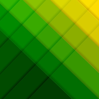 선으로 녹색과 노란색 포스터