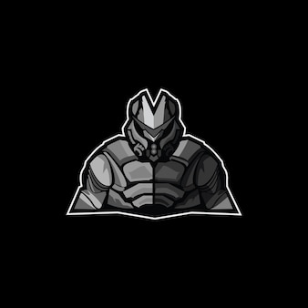 Green army logo mascot