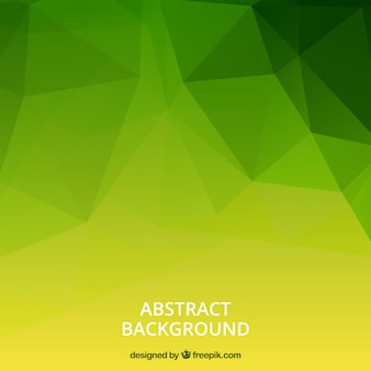 Green background with abstract style