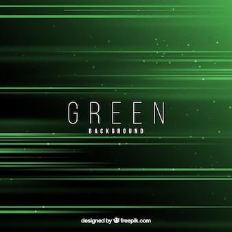 Green background with elegant design