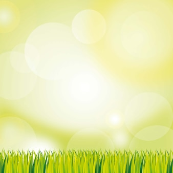 Green background with grass. vector illustration