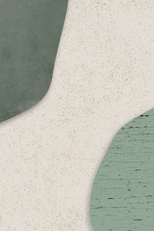 Green and beige shapes background
