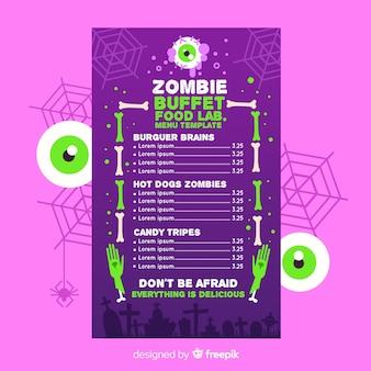 Green big eyes and menu template