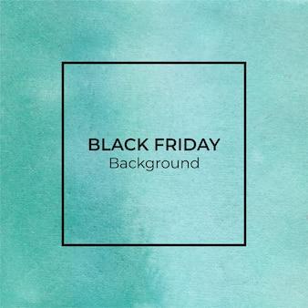 Зеленая черная пятница акварель абстрактный фон