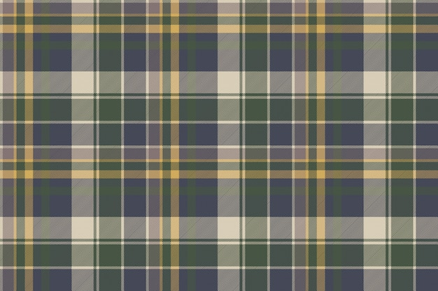 Green blue classic check plaid seamless pattern