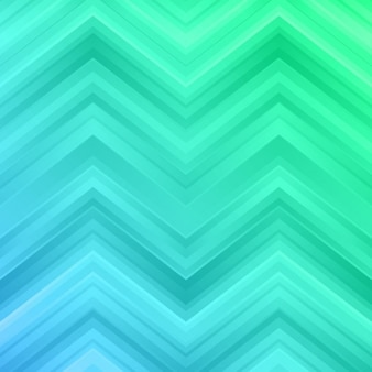 Green and blue zigzag background