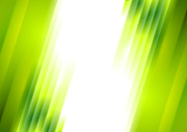 Зеленые размытые полосы яркий корпоративный фон. векторный абстрактный дизайн