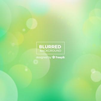 Green bokeh background concept