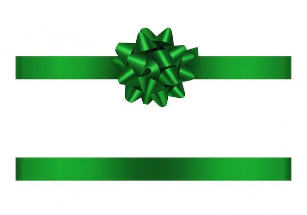 Зеленый лук и лента