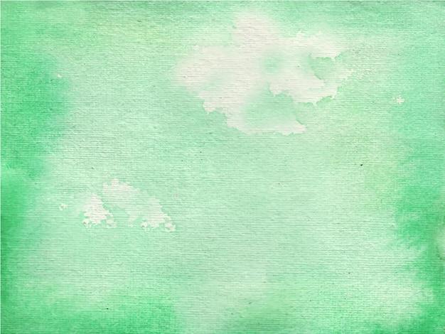 緑の明るい抽象的な水彩テクスチャ