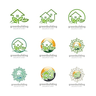 Green building natural ecology