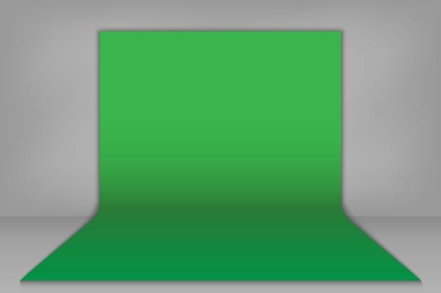 Зеленый фон для ключей цветности