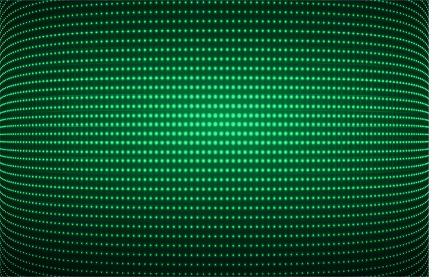 Green cinema screen for movie presentation