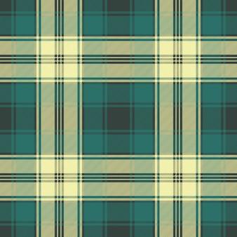 Green classic plaid seamless pattern