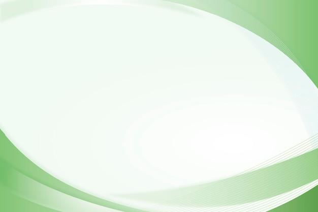 녹색 곡선 프레임 템플릿