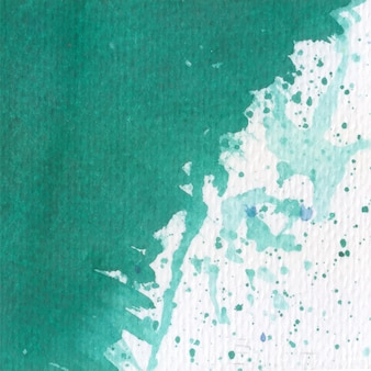 Green decorative watercolor texture background