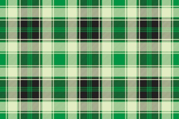 Green diagonal plaid seamless pattern