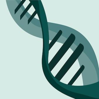 녹색 dna 분자