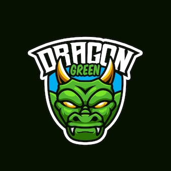 Green dragonesportロゴ